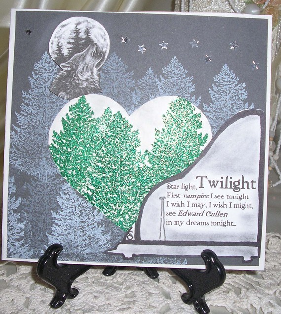 Twilight Inspired greeting card