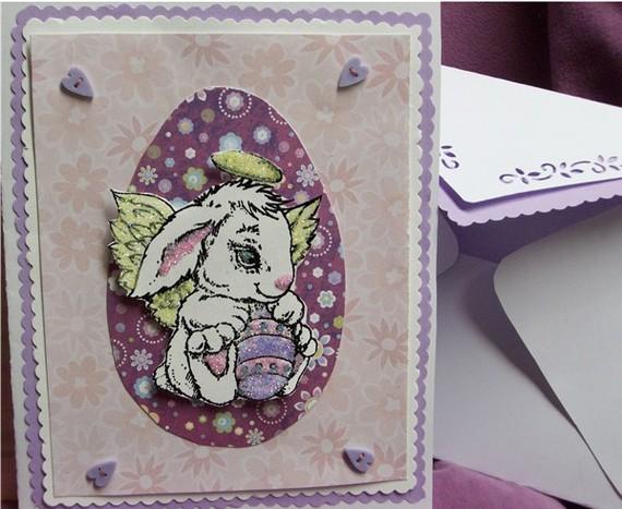 Angel Bunny Greeting Card